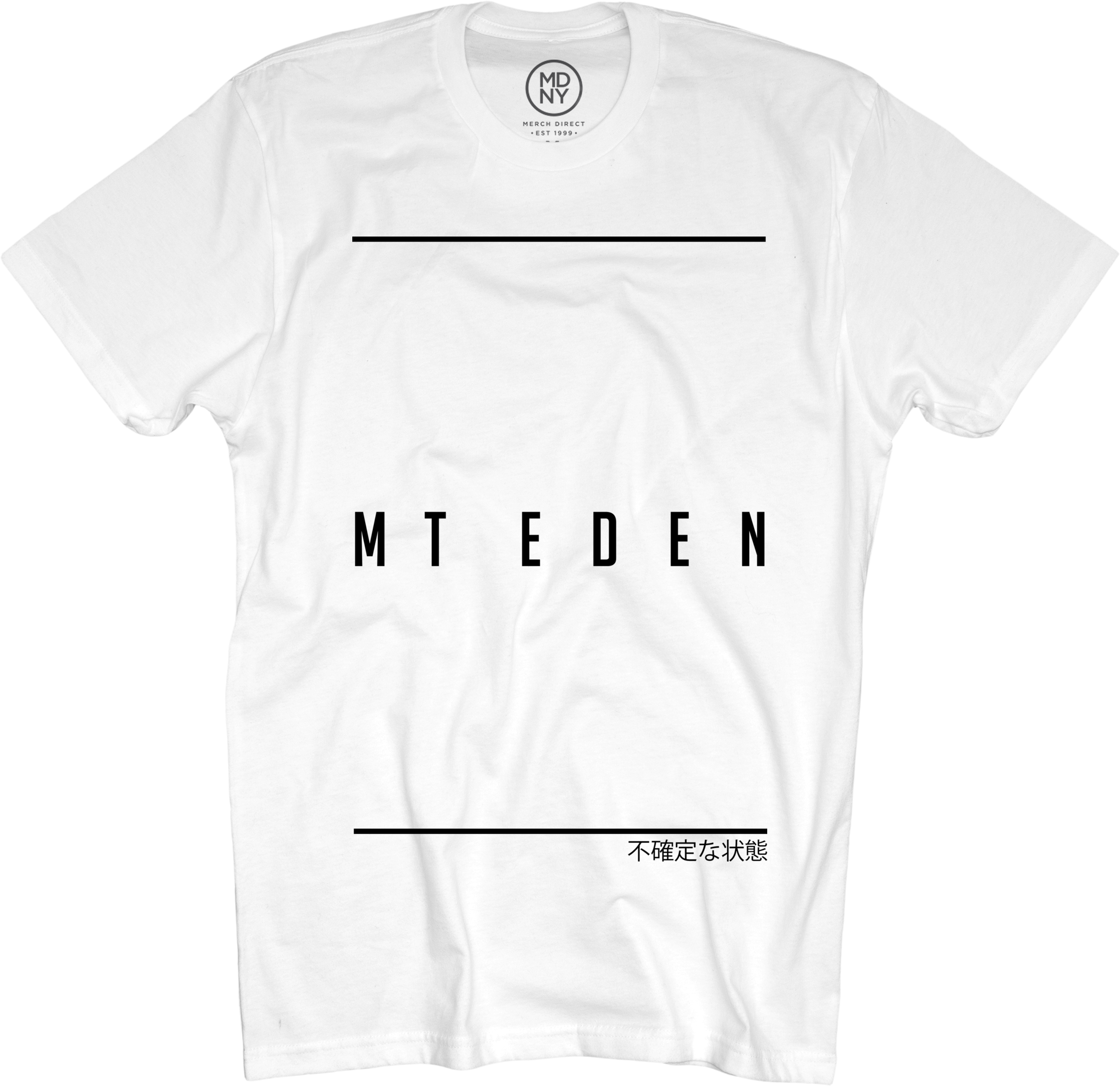 Mt Eden Mt Eden T Shirt White