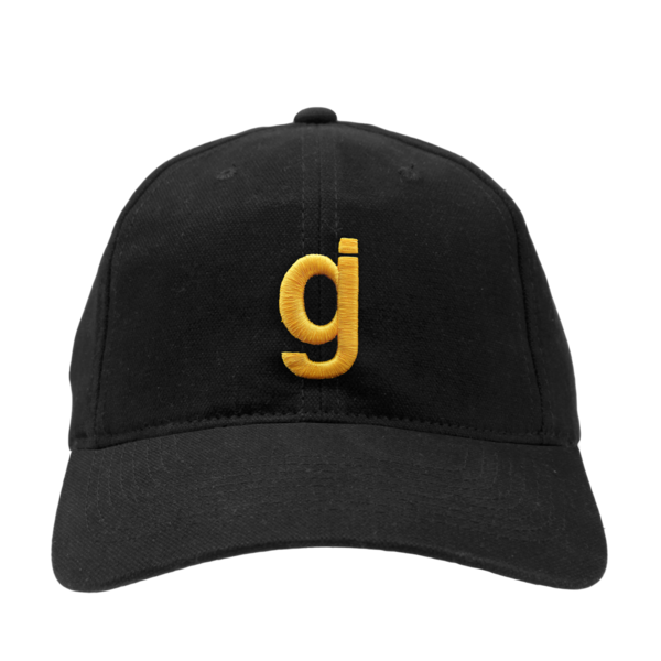 KKBB gj unstructured black/gold hat