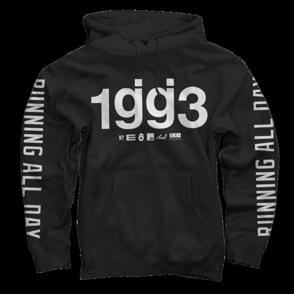 1gg3 running all day pullover sweatshirt