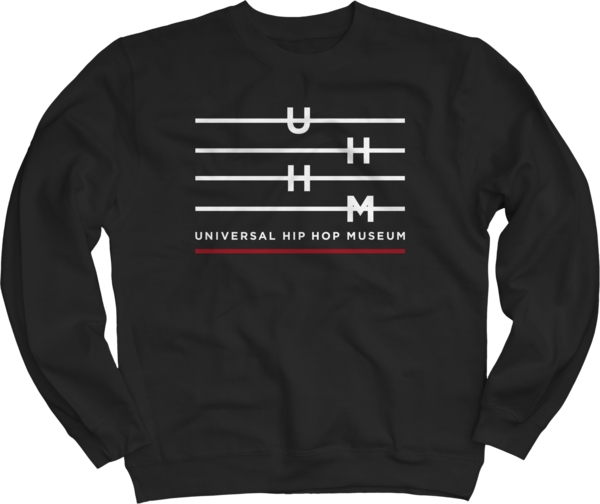 UHHM Black Crewneck Sweatshirt