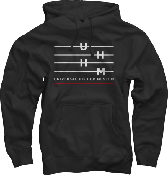 UHHM Black Pullover Sweatshirt