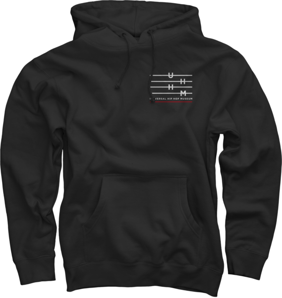 UHHM Shield Black Pullover Sweatshirt