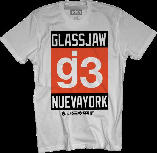 WXT g3 Nueva York White T-Shirt