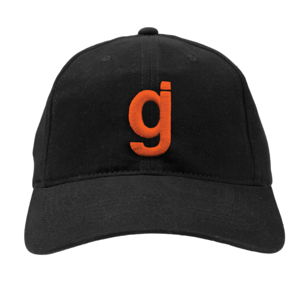 WXT gj Unstructured Black/Orange Hat