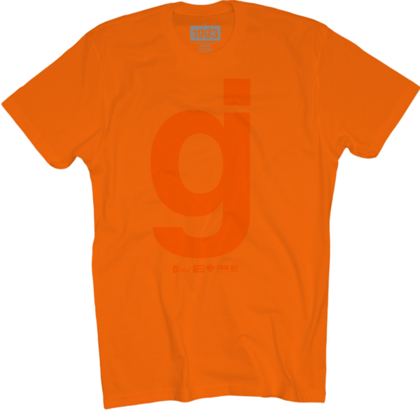 WXT gj Orange/Orange T-Shirt