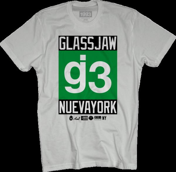 OCG g3 Nueva York White T-Shirt