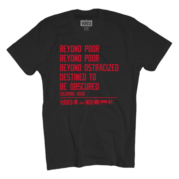 CB Beyond Poor Black T-Shirt