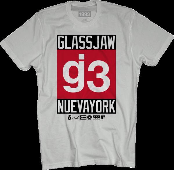 CB g3 Nueva York White T-Shirt
