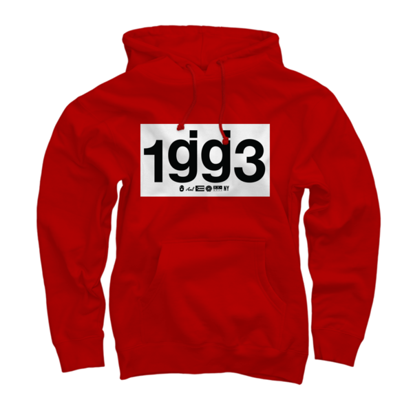 CB 1gg3 Red Pullover Sweatshirt