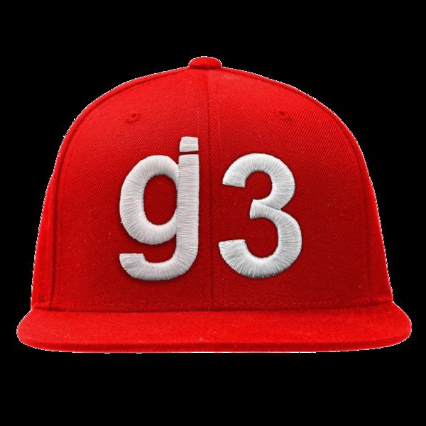 CB G3 Red Snapback