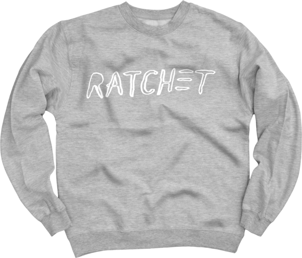 Ratchet Heather Grey Crew Neck