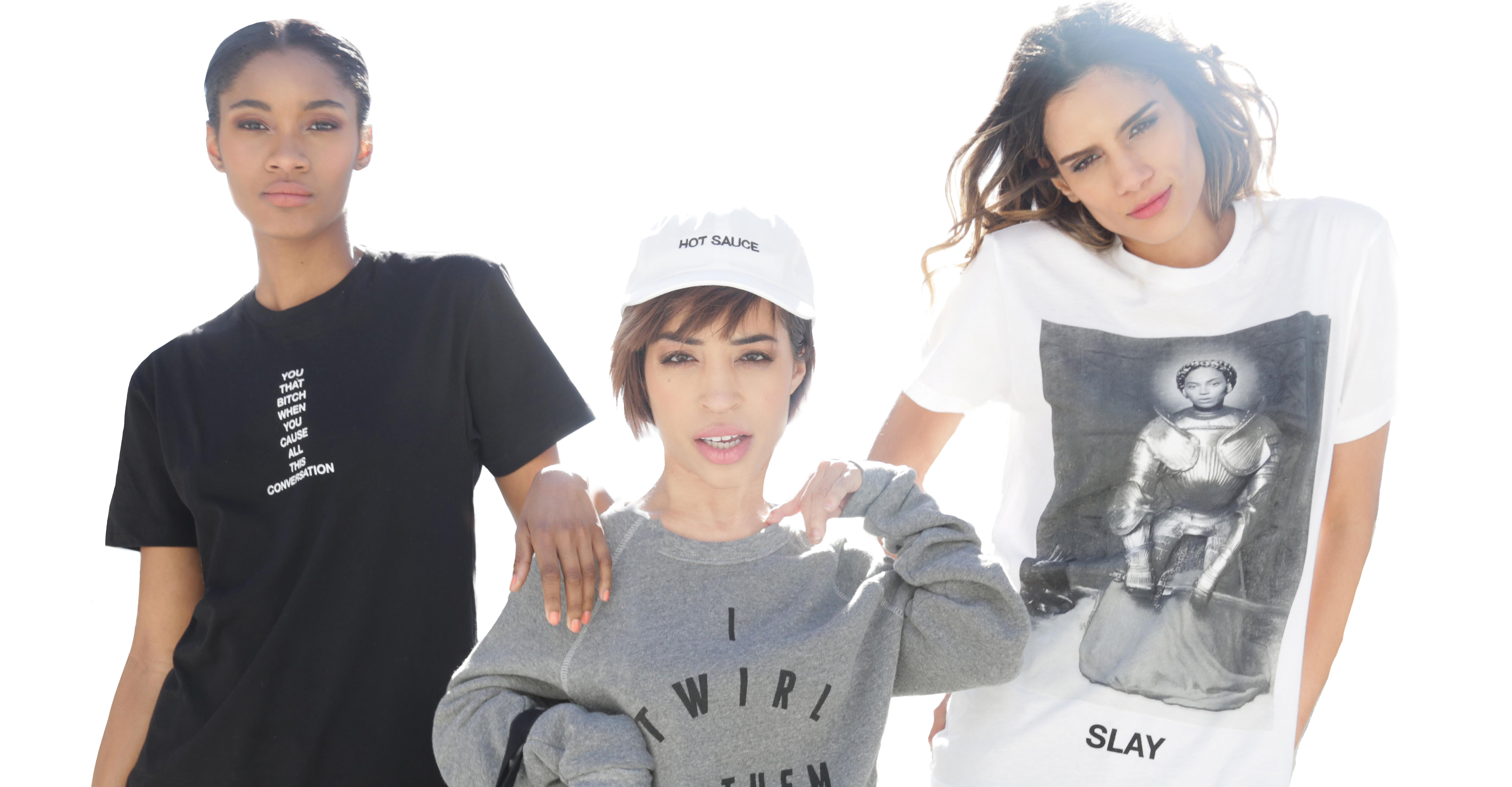 Jillian Mercado i dwie inne modelki