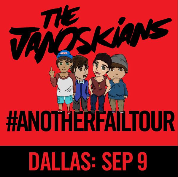 Janoskians: #AnotherFailTour - Dallas, TX