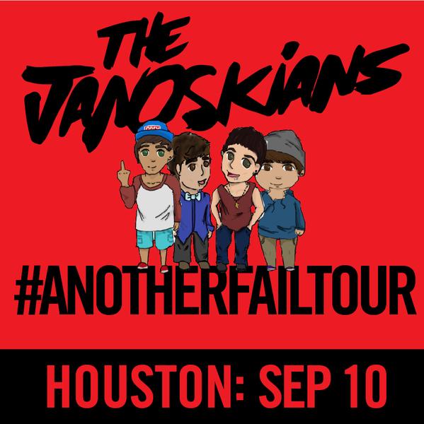 Janoskians: #AnotherFailTour - Houston, TX