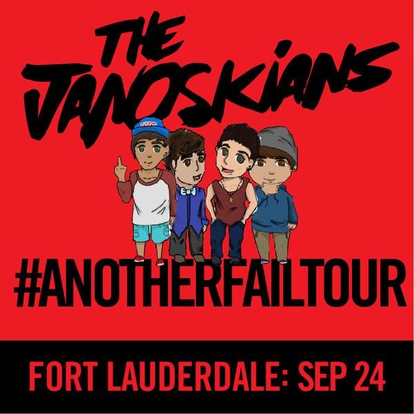 Janoskians: #AnotherFailTour - Fort Lauderdale, FL
