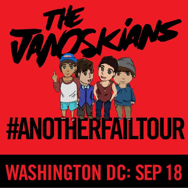 Janoskians: #AnotherFailTour - Washington, DC