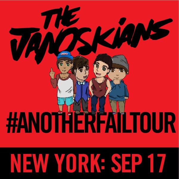 Janoskians: #AnotherFailTour - New York, NY