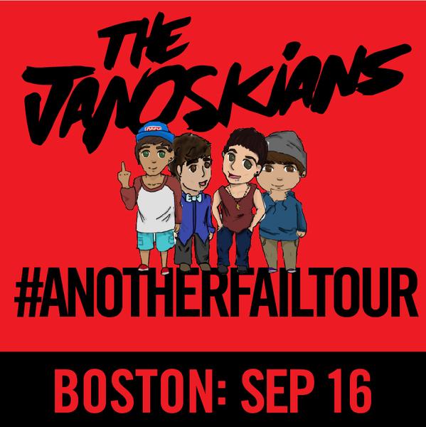 Janoskians: #AnotherFailTour - Boston, MA