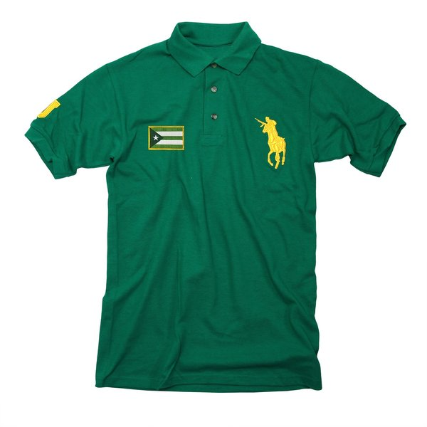GJ Kelly Green Polo