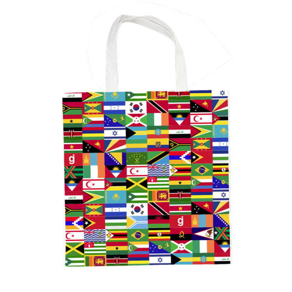 GJ World Wide Tote Bag