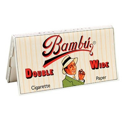 bambu papers Burn & brew carries the best selection of rolling papers in arlington, va,  these larger bambu papers are made from pure hemp and natural glue for flawless.