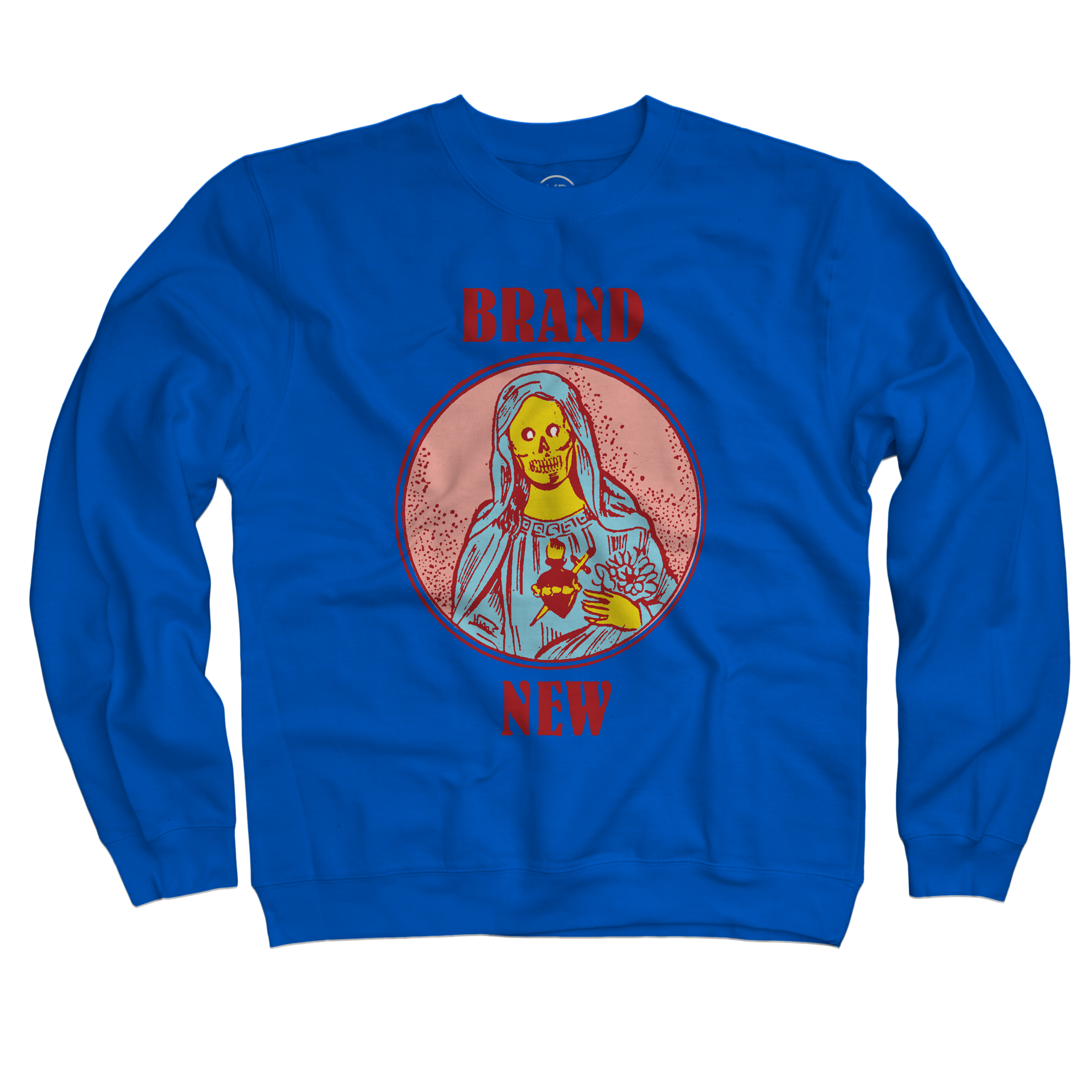 Virgin Mary Blue Crewneck Sweatshirt