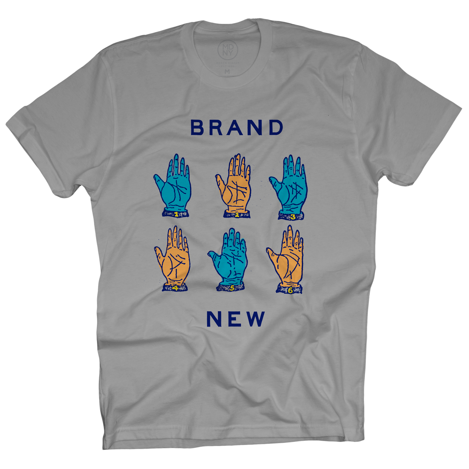 Hands Light Grey T-Shirt