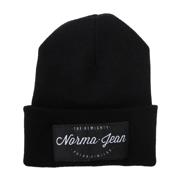 Polar Similar Black Beanie