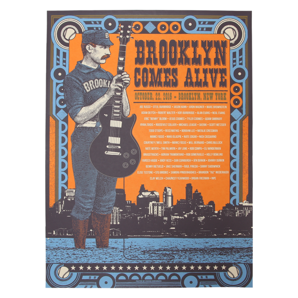 Brooklyn Comes Alive Poster