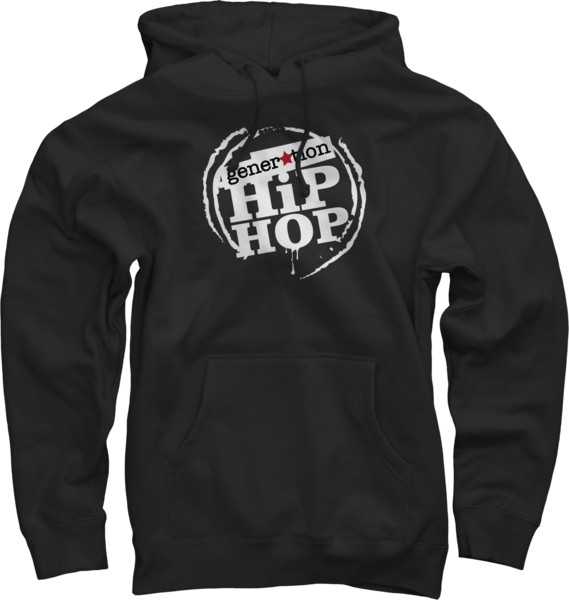 Generation Hip Hop Black Hoody