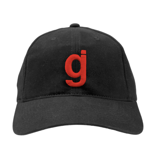 CB Red gj Unstructured hat
