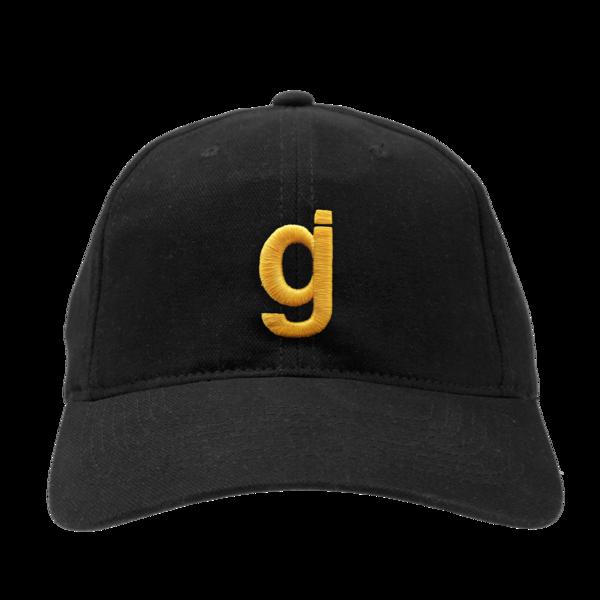 KKBB gj unstructured black/gold hat