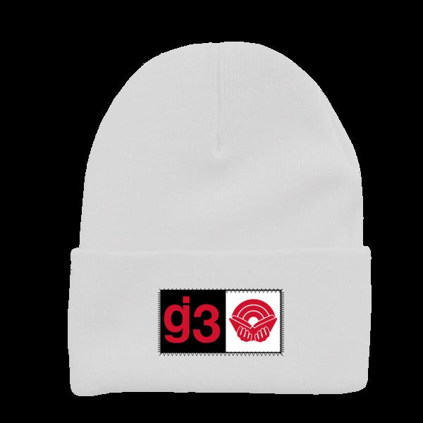 CB g3 white beanie