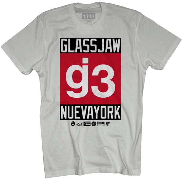 CB g3 Nueva York White T-Shirt