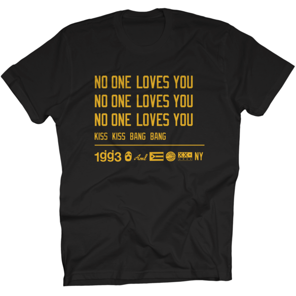 KKBB No One Loves You Black T-Shirt