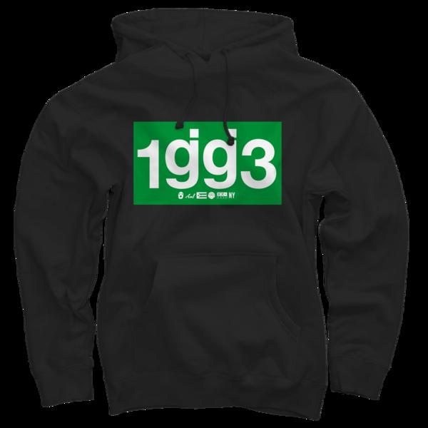 OCG 1gg3 Black Pullover Sweatshirt