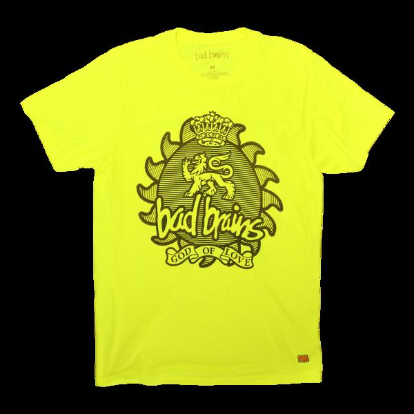 God of Love Neon Yellow T-Shirt