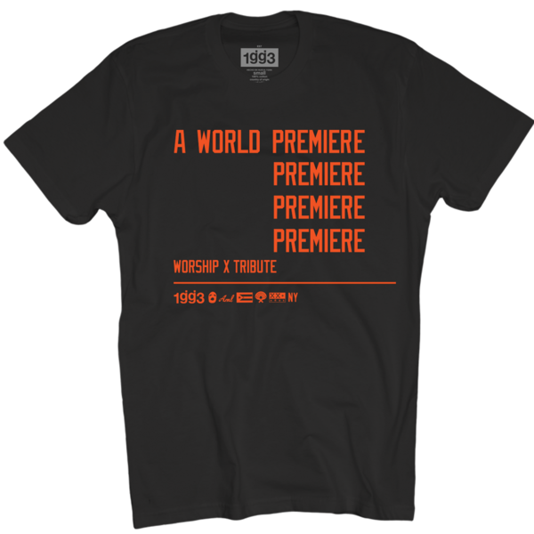 WXT World Premiere Black T-Shirt