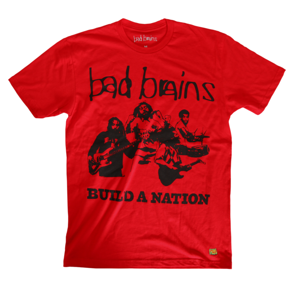 Build a Nation Red T-Shirt