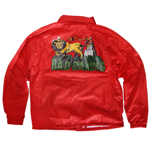 Build a Nation Red Coaches Jacket