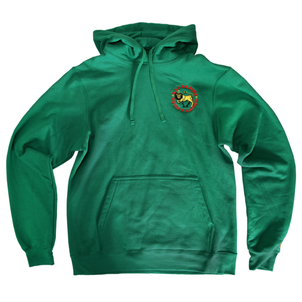 Build a Nation Green Pullover