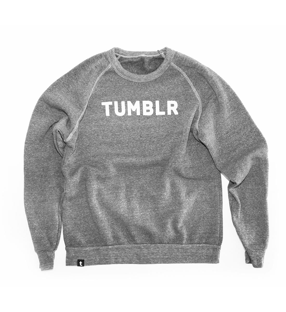 Tumblr Varsity Crew Sweatshirt