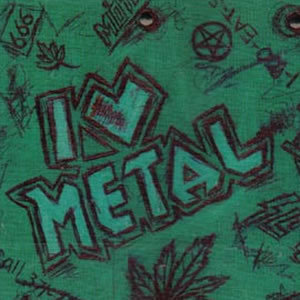 I Love Metal Compilation CD