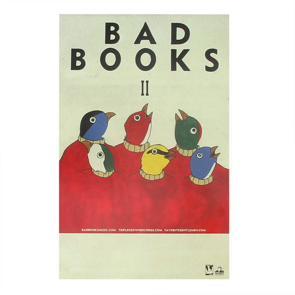 Bad Books 11x17 Poster