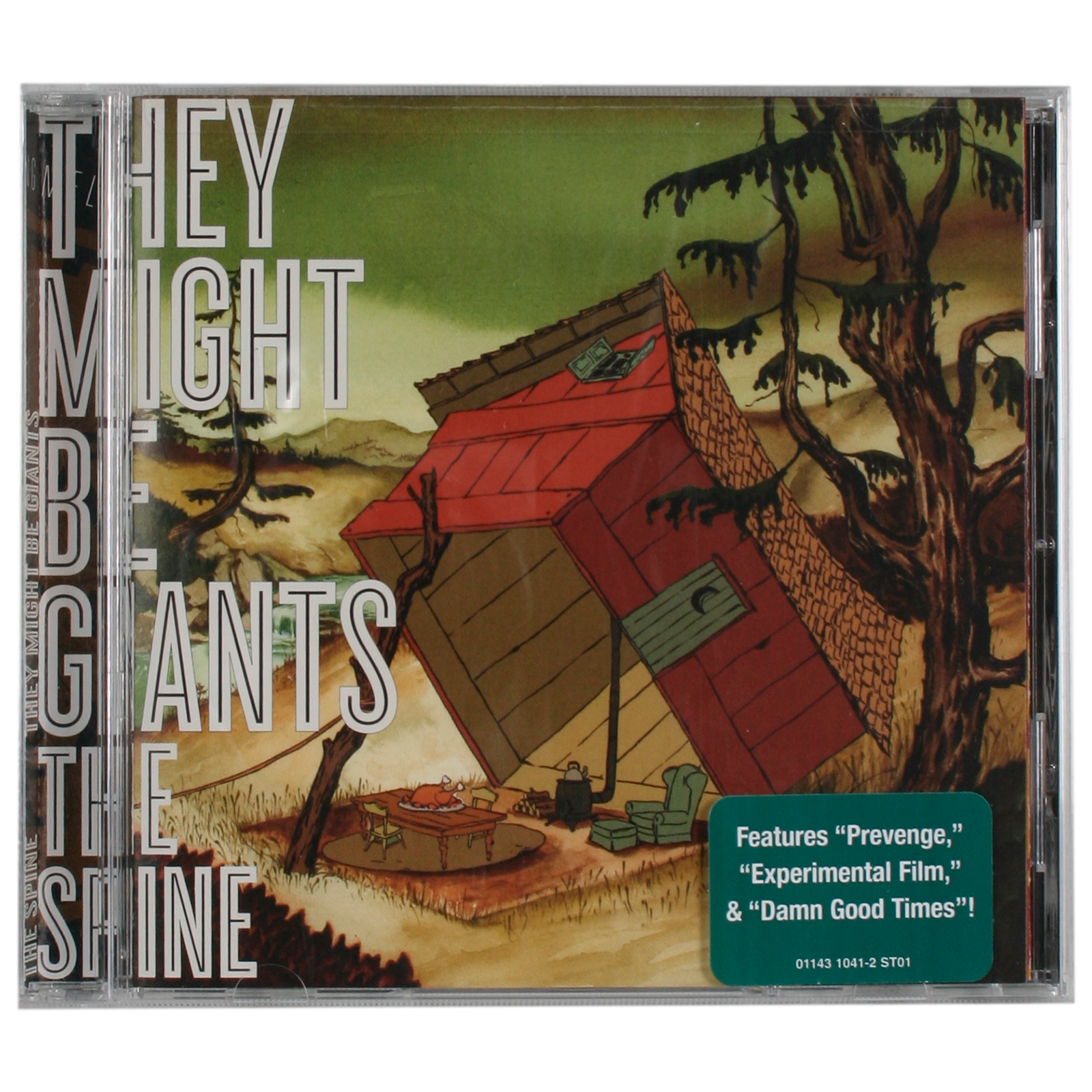 They Might Be Giants The Spine Cd
